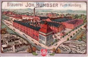 Humbser-Brauerei, 1915